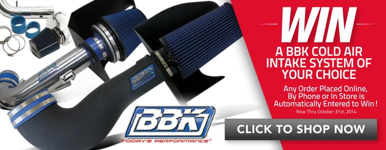 Win a Free BBK Cold Air Intake System