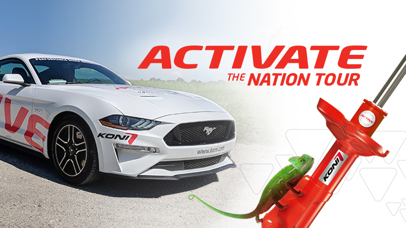 KONI Activate The Nation Tour